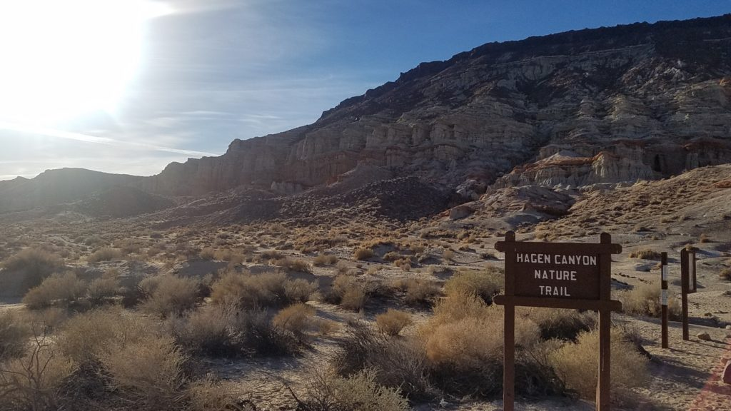 Red Rock Canyon State Park, Hagen Canyon Nature Trail - Last stop on our California Road Trip