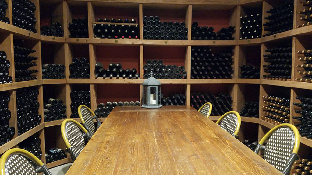 Private Tasting Cave at Le Cuvier Winery in Paso Robles, CA